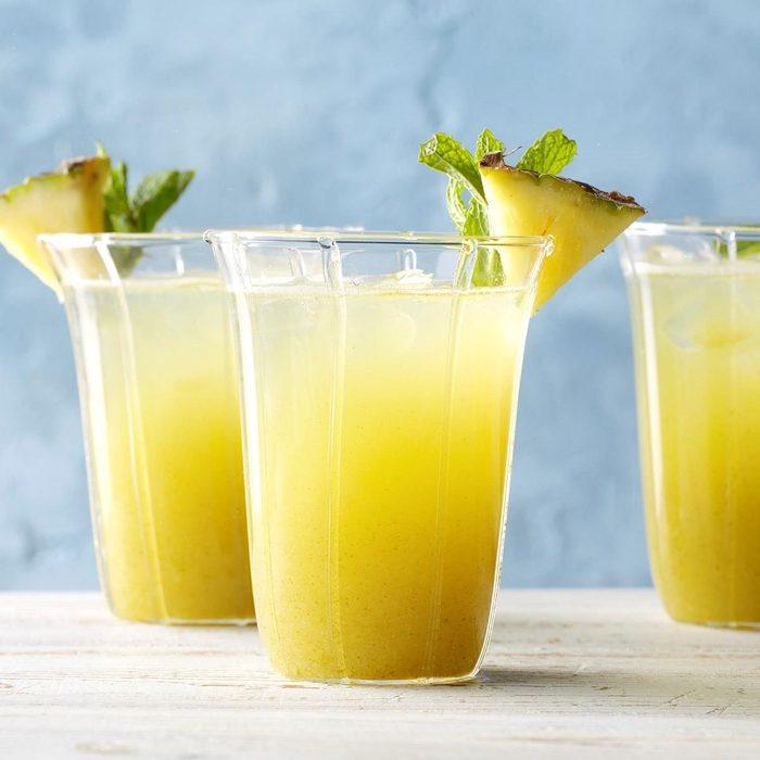 Minty Pineapple Rum recipe