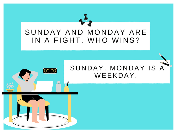Monday Jokes-Fighting Days