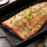 Sesame Salmon with Wasabi Mayo