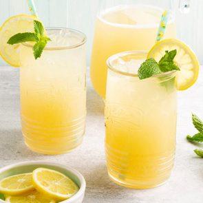 Summer drinks - Sparkling Ginger Lemonade Exps