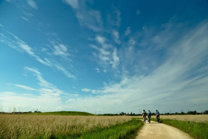 Canada tourist attractions - The Great Trail in Winnipeg