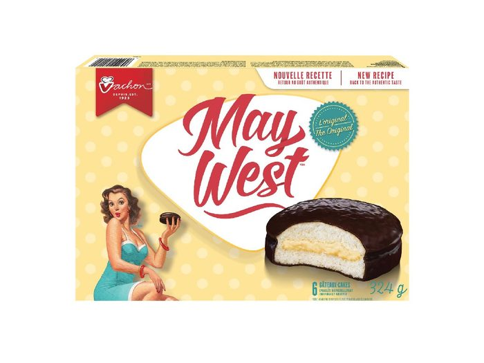 Canadian Snacks May West Snack Cake