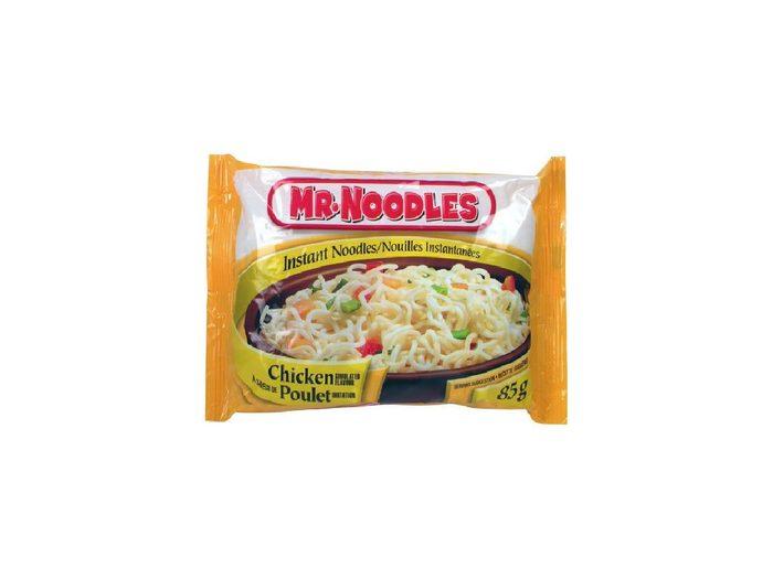 Canadian Snacks Mr Noodles
