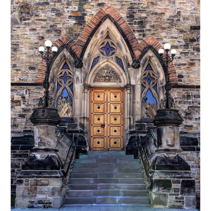 Doors Across Canada - East Block Of Parliament Doorway