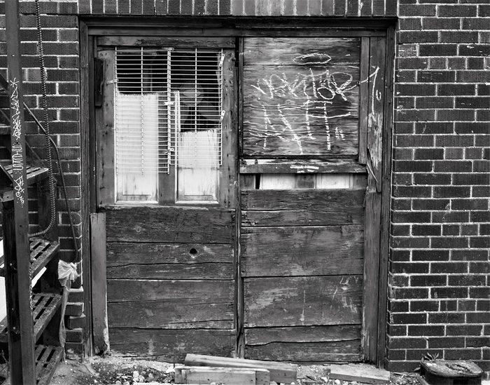 Doors Across Canada - Yonge and Eglinton alley