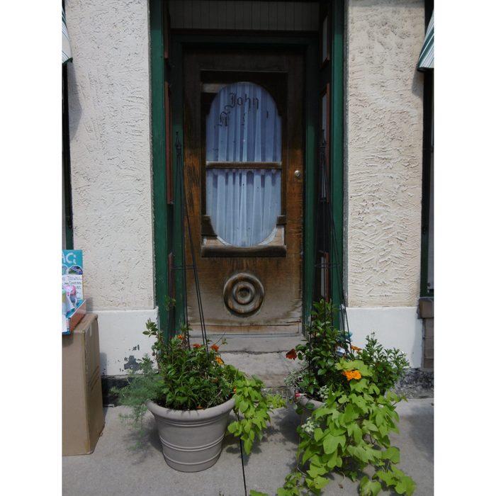 Doors Across Canada - Hall's Linens in Paris, Ontario