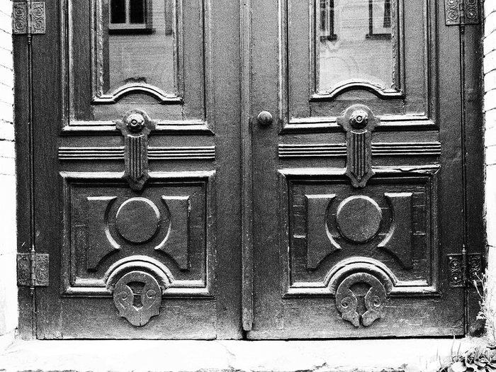 Doors across Canada - ornamental door detail