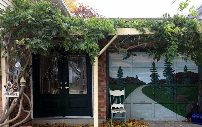 Doors Across Canada - Painted Garage Door