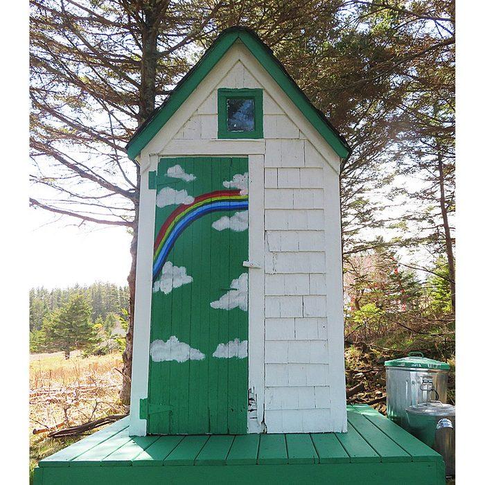 Doors Across Canada - Rainbow Shed