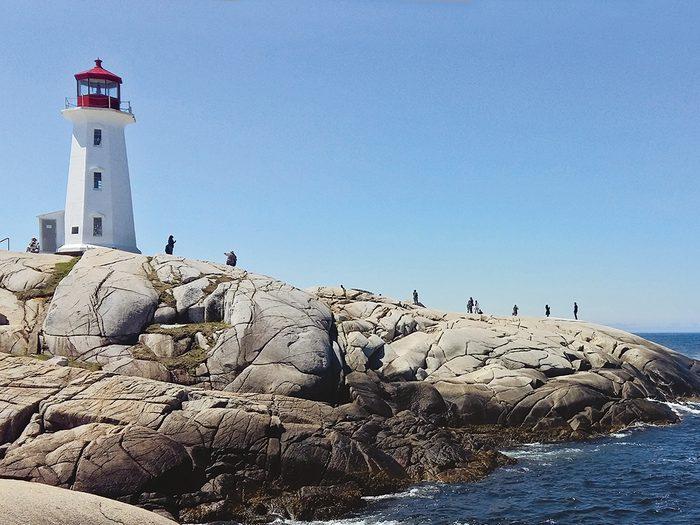 Nova Scotia Places To Visit - Peggy's Cove Lighthouse