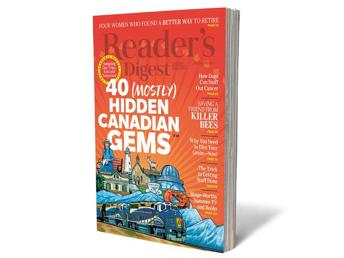 Readers Digest July August 2021 Cover Featured Image