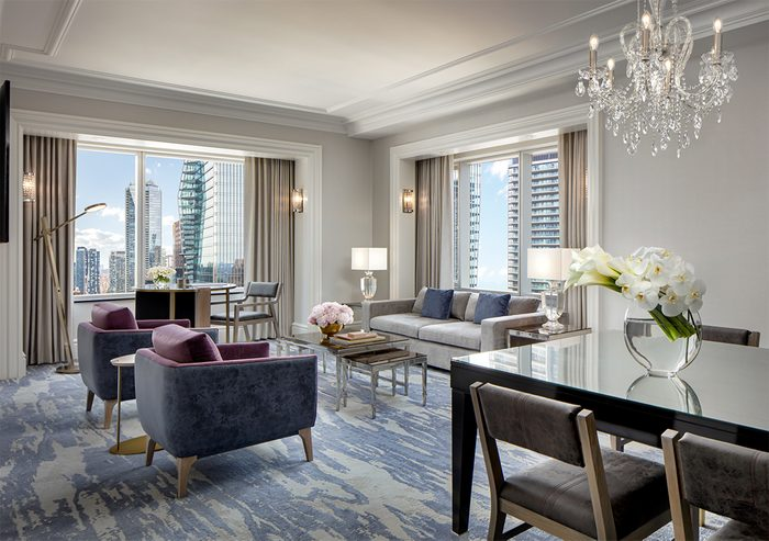 St. Regis Toronto - Corner Suite Living Room