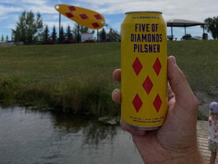 Day trips from Edmonton - Blindman Brewing