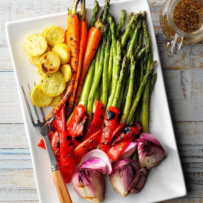 Grilled Vegetable Platter recipe
