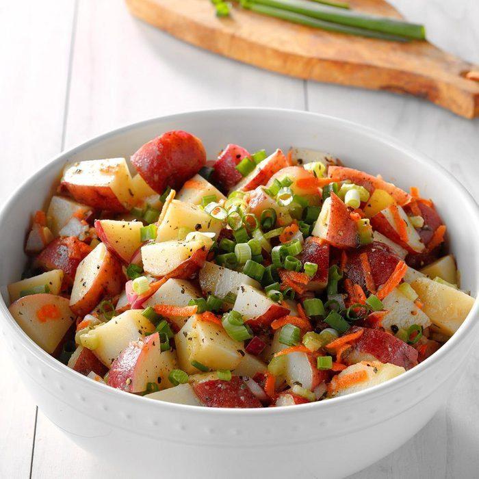 Honey Mustard Red Potato Salad recipe