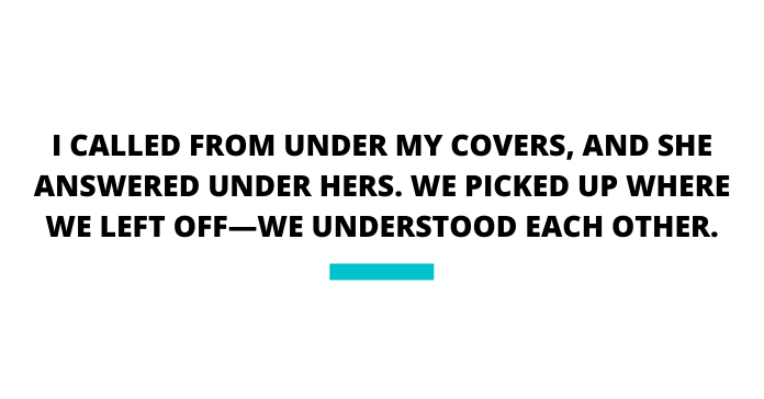 I Called Meryl From Under My Covers