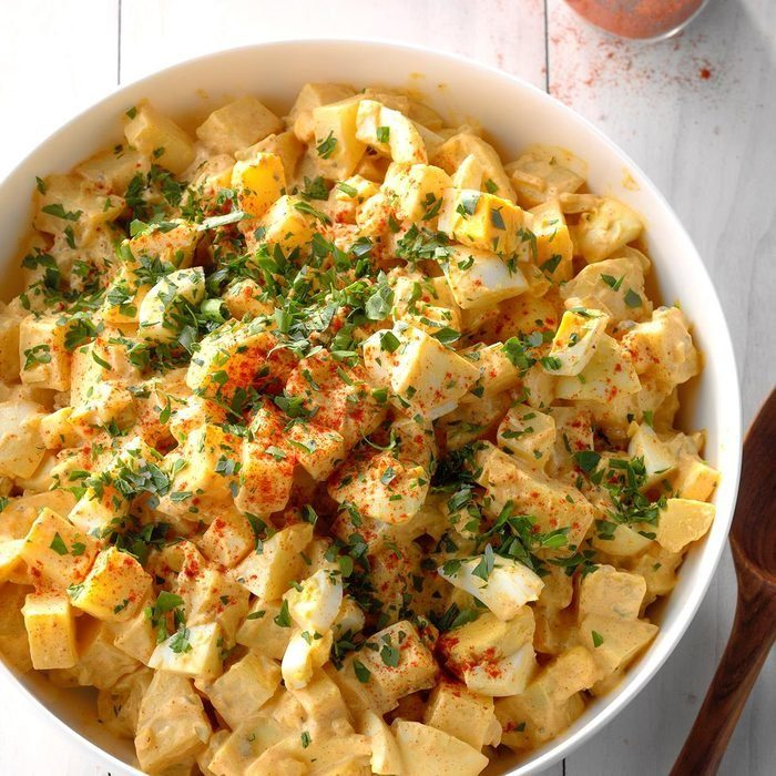 Spicy Cajun Potato Salad recipe
