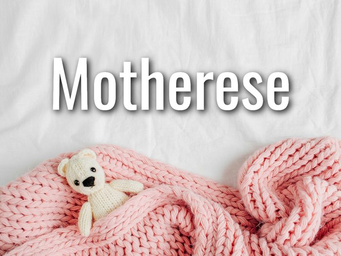 Baby Terms - Motherese