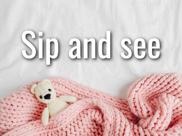 Baby Terms - Sip And See