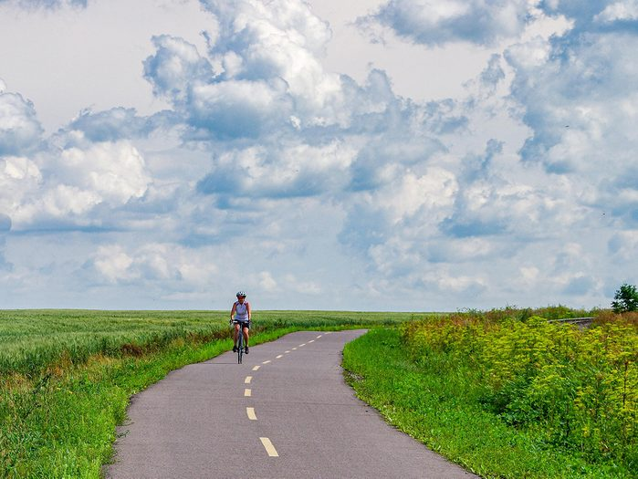 Bike Trails - Quebec Blueberry Route