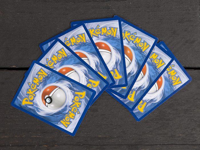 Childhood toys worth money - Pokemon trading cards
