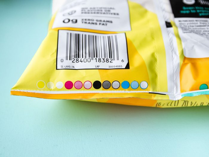 Coloured Circles Food Packages