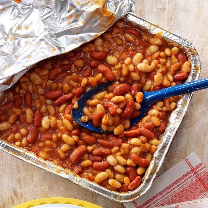 Quick Barbecued Beans recipe