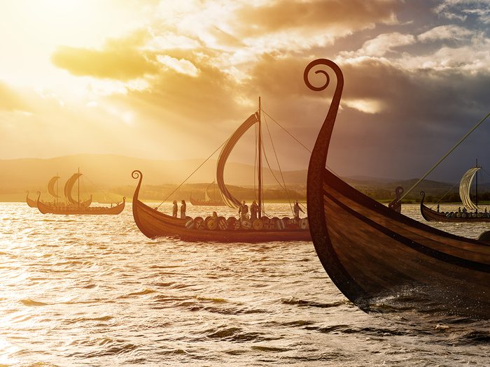 History jokes - Viking ships