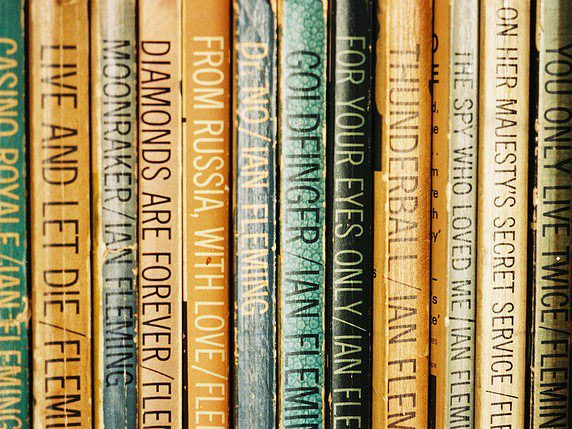 James Bond Books - Pan paperback editions