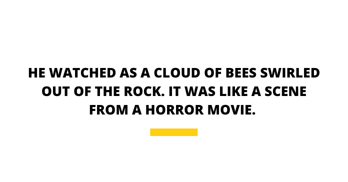 Killer Bees Pull Quote Cloud Of Bees