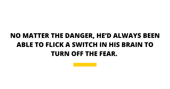 Killer Bees Pull Quote Turn Off Fear