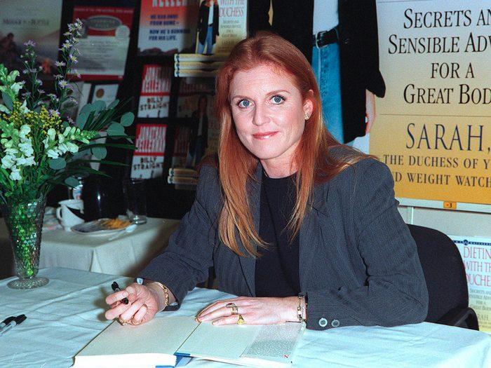 Royal memoirs - Sarah Ferguson book signing