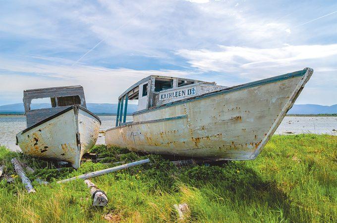 West Coast Newfoundland - Fishing boat Kathleen
