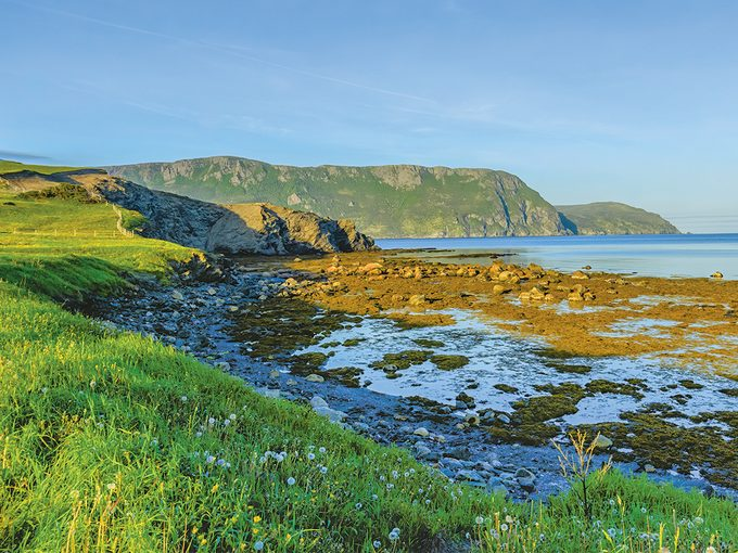 West Coast Newfoundland - Lobster Cove at low tide