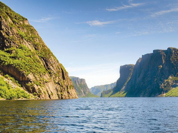 West Coast Newfoundland - View from the Gros Morne ferry
