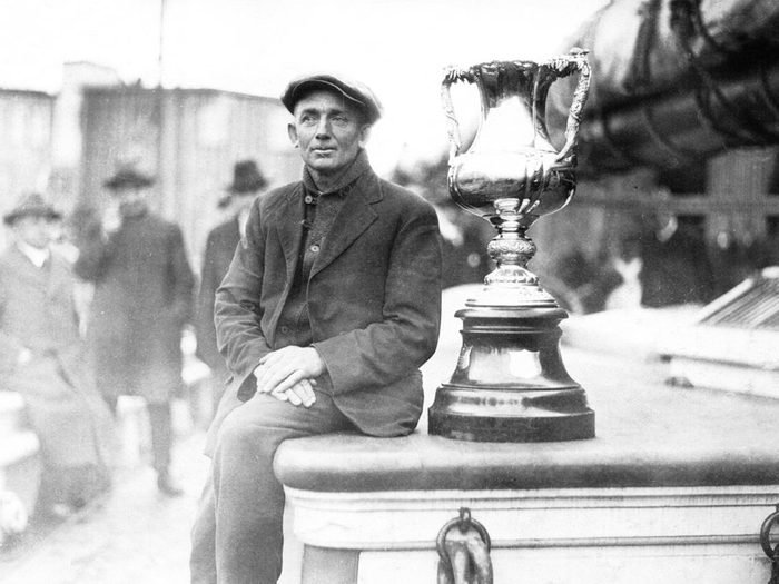 What Happened To The Bluenose Angus Walters Captain With Trophy