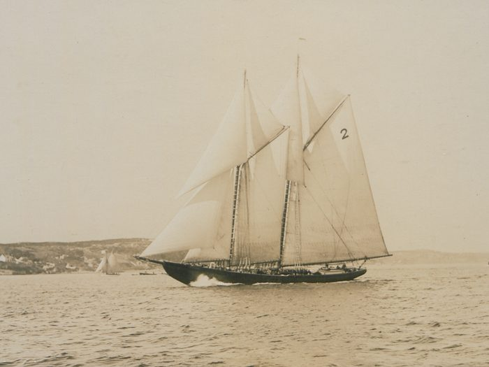 What Happened To The Bluenose Bluenose Under Full Sail