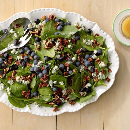 Spinach Blueberry Salad Test